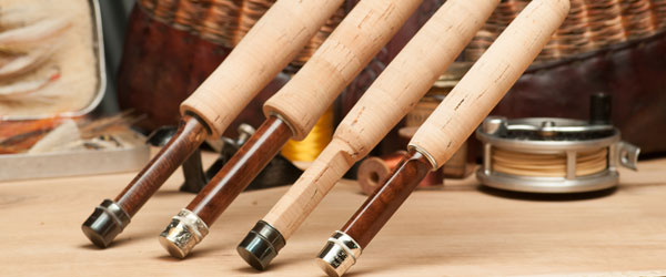 This is a selection of my fresh water split bamboo fly rods.